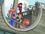 Wallykazam, Sabrina and Ami and Yumi (Shrek)