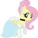 Fluttershy as Cinderella