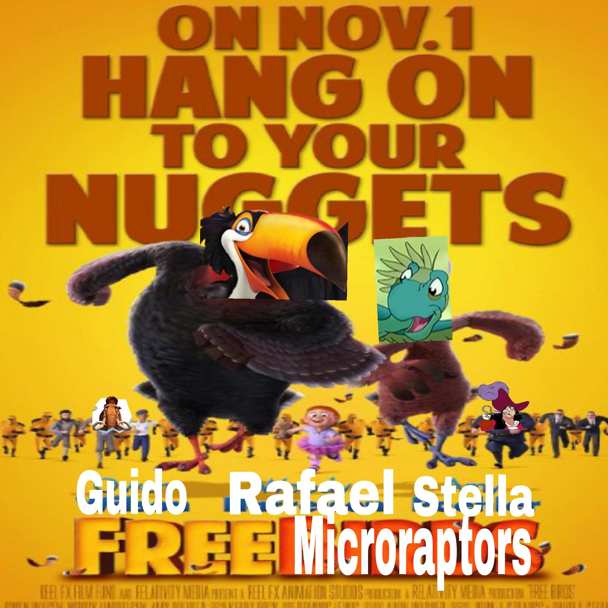 Free Microraptors (Free Birds)