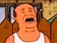 King of the hill Bill Dauterive crying