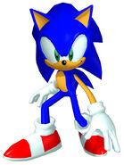 Sonicheroes sonic early