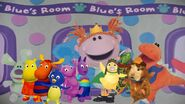 The Dora and Blue Show - Dora and Blue's playroom (with Polka Dots, Roary, Frederica, The Backyardigans, and The Wonder Pets)