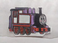 Thomas and friends rosie the pink engine by joshuathecartoonguy dcy4cue-fullview