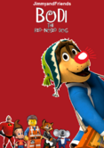Bodi the red nosed dog poster