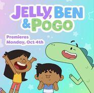 Jelly, Ben & Pogo