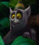 King Julien in Madagascar