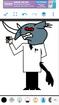 Proffessor Utorium as a Rhinoceros