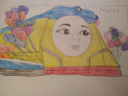 Rebecca the fun happy engine gordon s mate by hamiltonhannah18 ddwdfvc-fullview