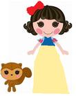 Snowy Fairest as Snow White
