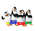 The Penguins in the summer