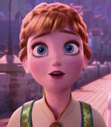 Anna in Frozen Fever