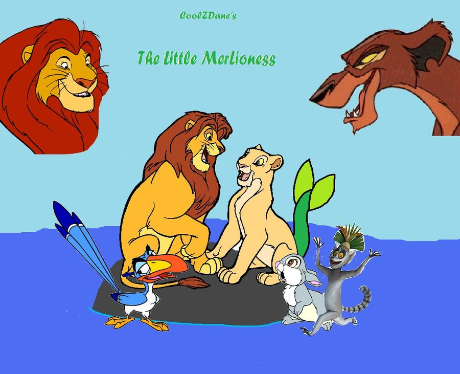 The Little Mer-Lioness