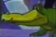 Crash bandicoot cartoon crocodile