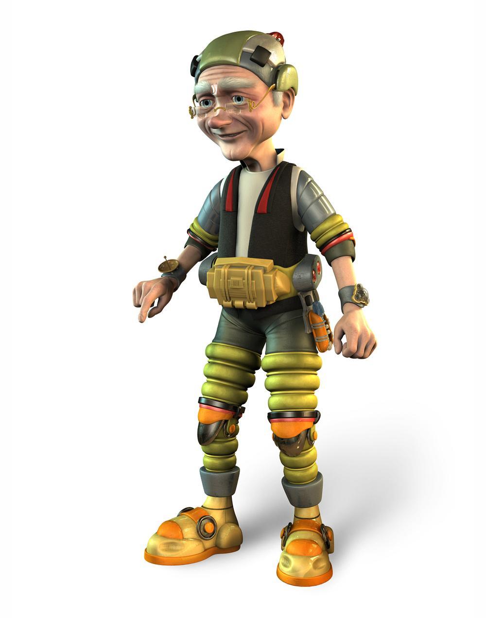 Geppetto (Pinocchio 3000)