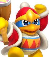 King Dedede in Kirby - Triple Deluxe