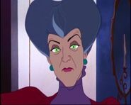 Lady Tremaine as Magic Mirror