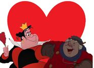 The Queen of Hearts and The Coachman love together