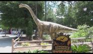 Wild Adventures Brachiosaurus