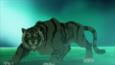 Beast Boy as a Tiger