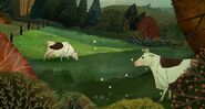 Cattle, Holestein Cow (Song of the Sea)