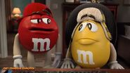 M&M's Red and Yellow Commercial