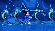 Mickey twice upon a christmas alligators