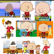 Stanley Griff over the years