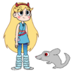 Star meets Long-Tailed Chinchilla