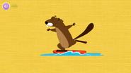 Alive Beaver