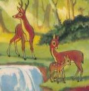 Deers snow white disneyland magazine