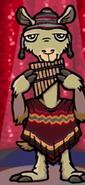 Hugo lek och lar 2 den magiska resan llama musician