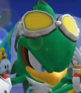 Jet the Hawk in Mario and Sonic at the Olympic Winter Games