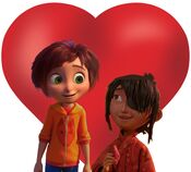 June Bailey and Kubo love together