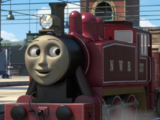 Rosie the Pink and Little Red Engine