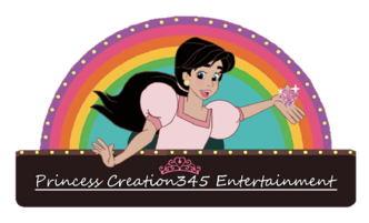 Princess Creation345 Entertainment Logo (Willy's Wonderland Style) (transparent).png