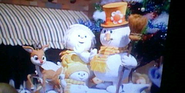 Rudolph and frosty parade