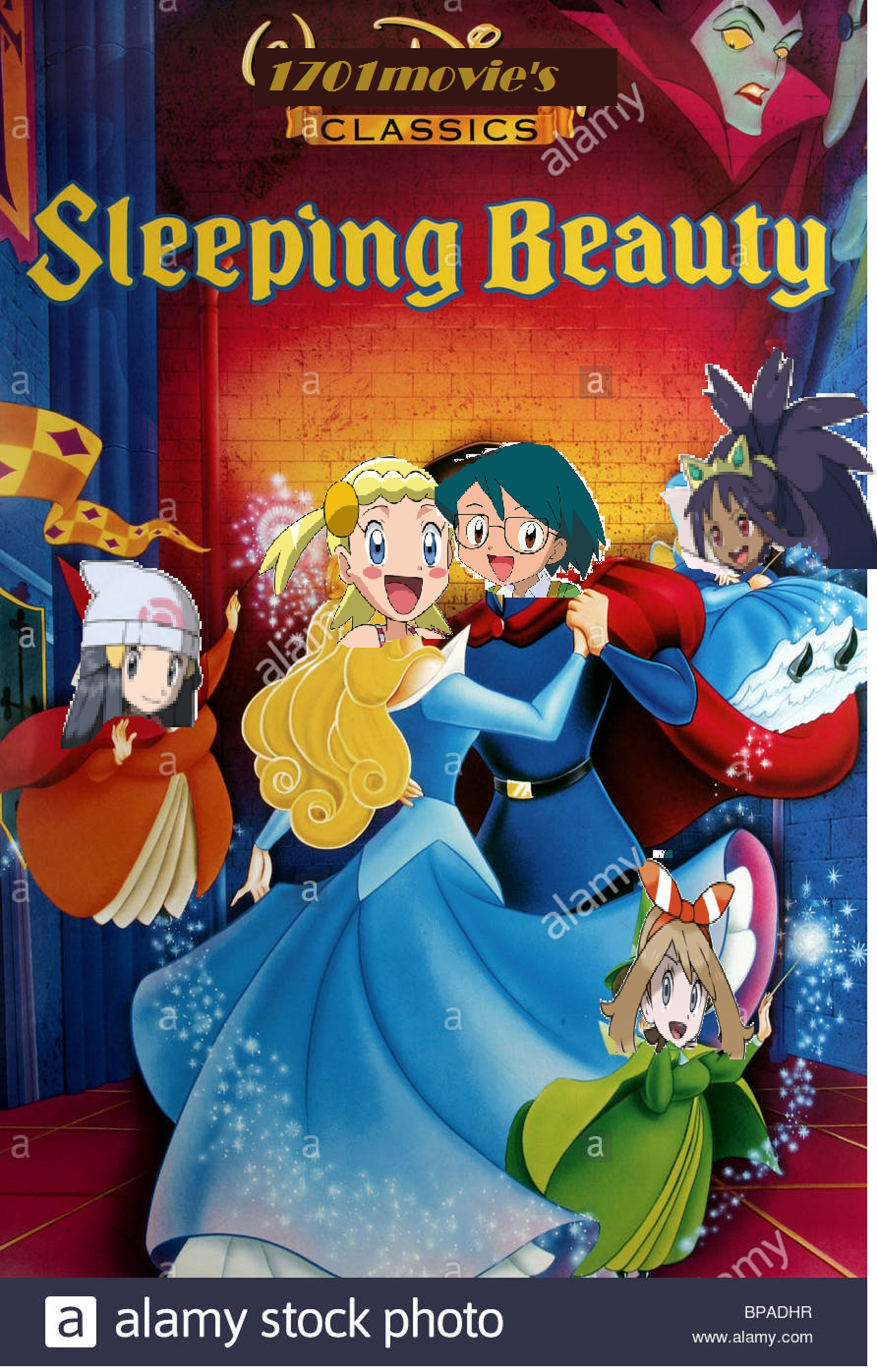 Sleeping Beauty (1701Movies Human Style)