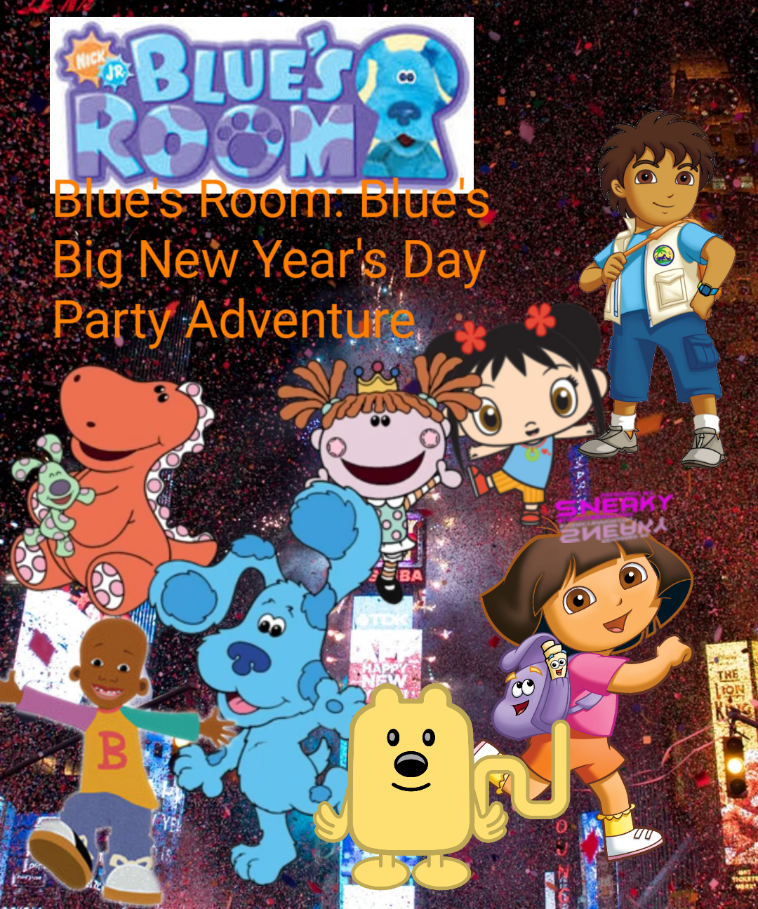 Blue's Room: Blue's Big New Year's Day Party Adventure
