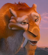 Diego in Ice Age Continental Drift