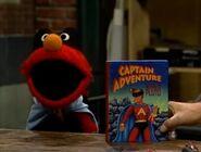 Elmo as Captain Adventure his favorite superhero in episode 2962