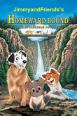 Homeward bound the incredible journey jimmyandfriends style poster
