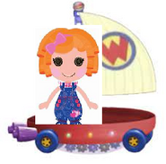 Sunny Side Up Riding the Wonder Pets Flyboat