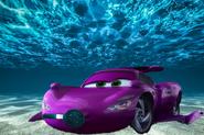 Holley underwater