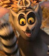 King Julien in Madagascar Escape 2 Africa