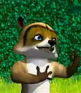RJ in Over the Hedge (Video Game)
