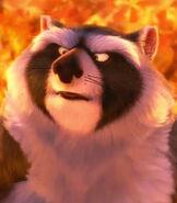 Raccoon in The Nut Job