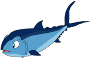 Sam Spacebot tuna form findingnemo in thespacebotsadventuresseries