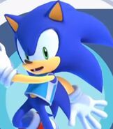 Sonic the Hedgehog in Mario and Sonic at the Olympic Games Tokyo 2020