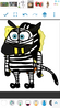 StripeBob ZebraPants