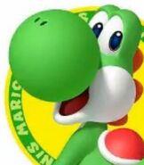 Yoshi in Mario Tennis Open